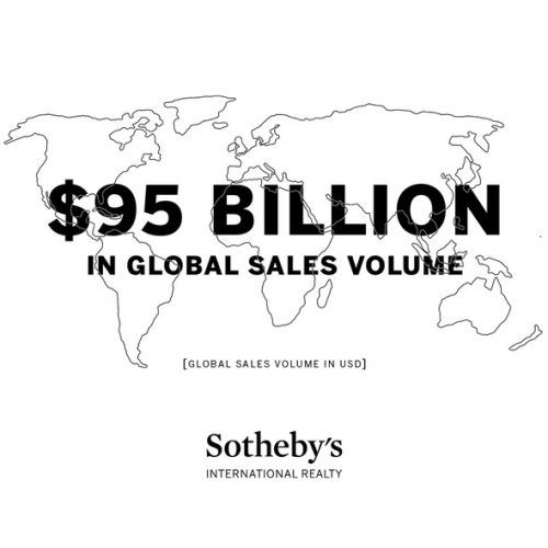 LA MARQUE SOTHEBY'S INTERNATIONAL REALTY® ACCOMPLIT 95 MILLIARDS DE DOLLARS EN VOLUME DE VENTES EN 2016